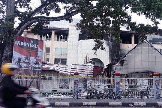 Polisi investigasi cari pembakar Gedung MRP