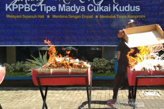 KPPBC Kudus optimistis capai target penerimaan cukai rokok