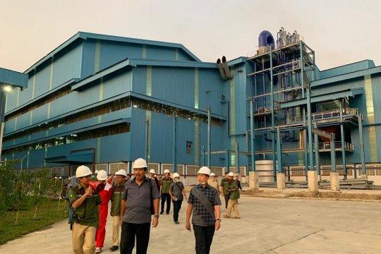 Pabrik gula Rejoso Manis Indo mulai giling perdana tebu