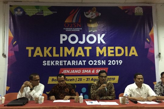 Mendikbud akan buka O2SN tingkat nasional di Aceh
