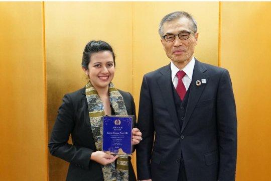 Sastia, perempuan yang memimpin peneliti laki-laki di Jepang
