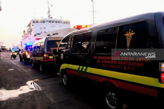 Basarnas: Jumlah korban kapal terbakar lebihi manifes