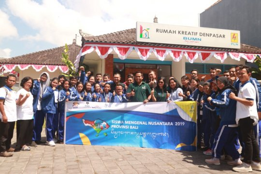 PLN Denpasar terima kunjungan 23 peserta SMN dari Kalimantan Barat