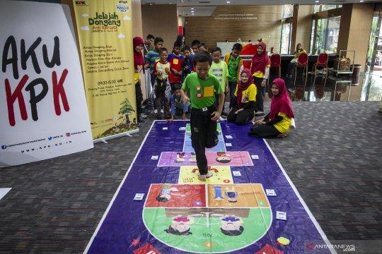 Pendidikan antikorupsi sejak dini, KPK undang anak-anak bermain ke kantornya