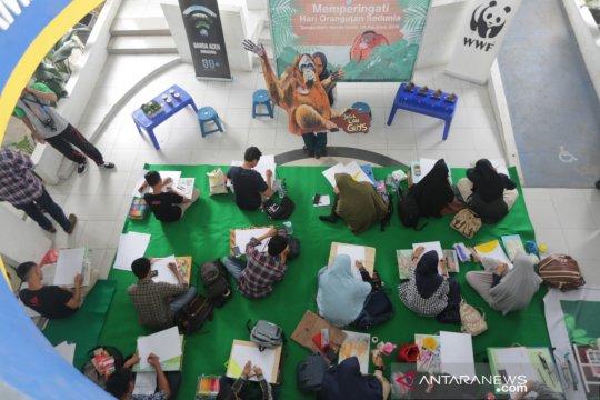 BKSDA Aceh: Populasi Orangutan Sumatera tersisa 13.000