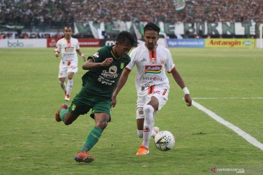 Liga 1: Persebaya Surabaya tahan imbang Persija Jakarta 1-1