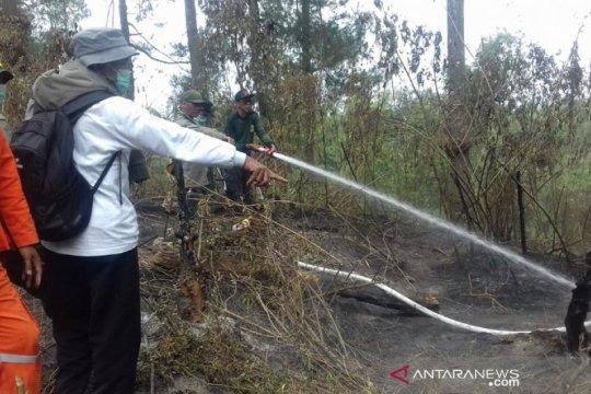 Tim gabungan berhasil padamkan kebakaran hutan di kawasan Merapi