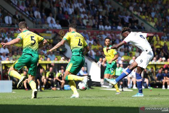 Liga Inggris: Chelsea petik kemenangan perdana setelah kalahkan Norwich City