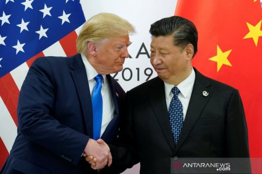 Trump: AS, China segera mulai perundingan dagang Tahap Kedua