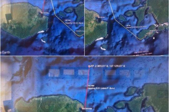 Kapal kargo berpenumpang 25 orang hilang kontak di Pulau Buru