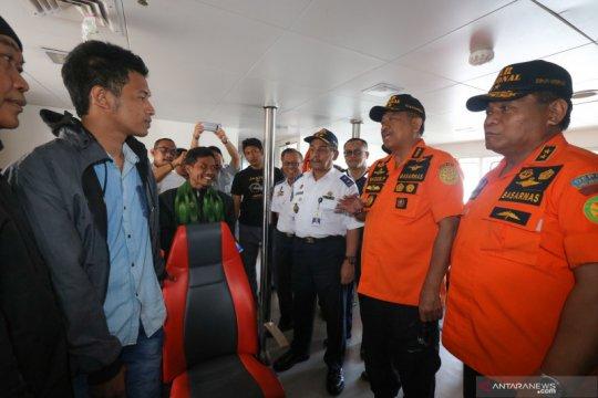 Lima korban selamat KM Santika