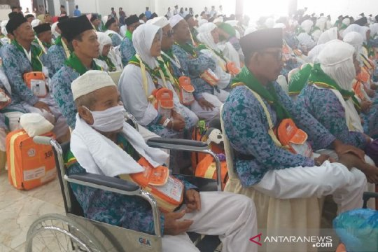 Satu jamaah haji dari Langkat masih dirawat