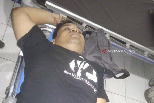 Driver ojol di Medan patah tulang ditendang penjambret