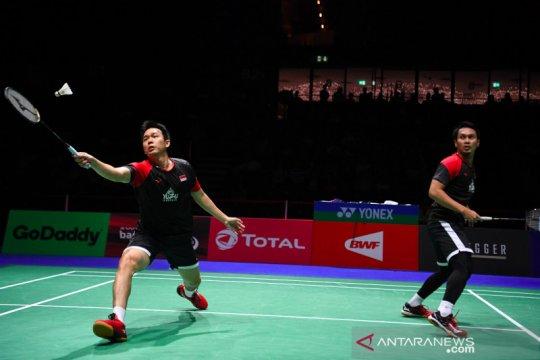 Hendra/Ahsan mundur dari Korea Open akibat cedera