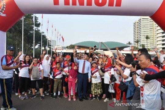 MPR sosialisasikan nilai-nilai kebangsaaan melalui jalan sehat