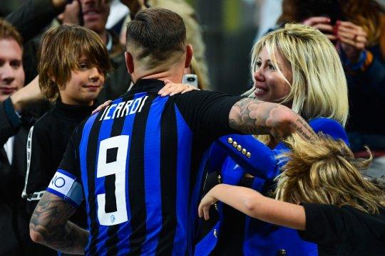 Istri sekaligus agen tegaskan Icardi hanya ingin Inter