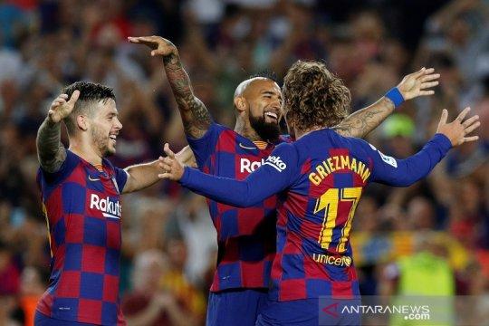 Hasil dan klasemen Liga Spanyol, Barcelona taklukkan badai cedera