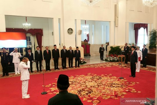 Presiden lantik Wagub Sulawesi Tengah