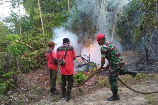 Pemadaman kebakaran di Tahura di Jambi harus gunakan water bombing