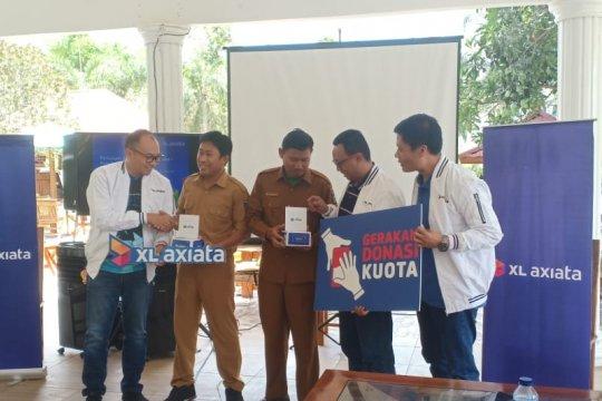 Sebanyak 50 sekolah di Sumbawa terima bantuan kuota data XL