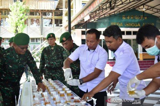 Kodam XIV/Hasanuddin tes urine serentak