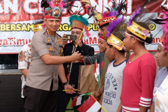 Polresta Sidoarjo minta masyarakat Papua tidak terhasut isu hoaks