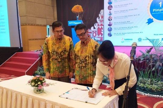 150 pimpinan perguruan tinggi deklarasikan komitmen budaya mutu