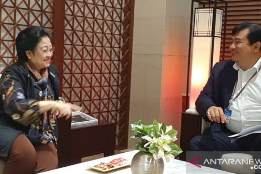 Megawati tiba di Korsel hadiri DMZ International Forum