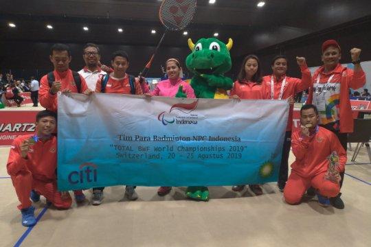 Indonesia raih empat emas dalam Kejuaraan Dunia Para-Badminton