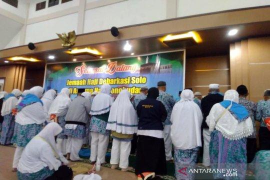 Jamaah haji Embarkasi Surakarta meninggal menjadi 45 orang