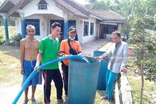 Warga Mesuji Lampung mulai alami krisis air bersih
