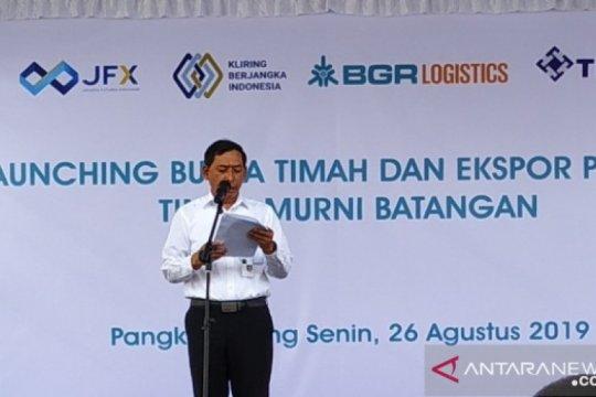 Kemendag dorong bursa timah Indonesia jadi acuan harga komoditi dunia