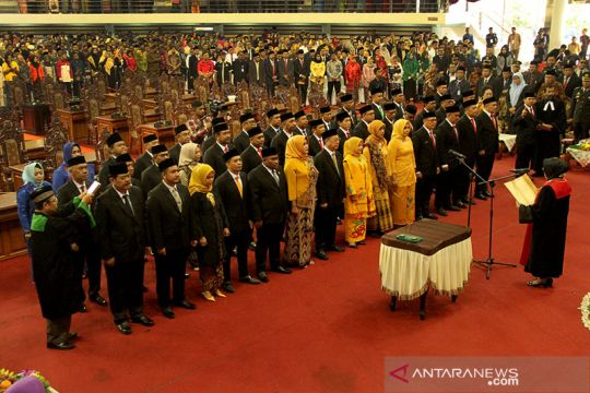 Pelantikan anggota DPRD Balikpapan masa bakti 2019-2024