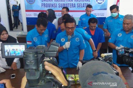 BNN Sumsel mengejar pemasok sabu-sabu hingga ke Riau