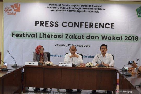 Festival Literasi Zakat dan Wakaf 2019 dorong pemahaman soal ziswaf