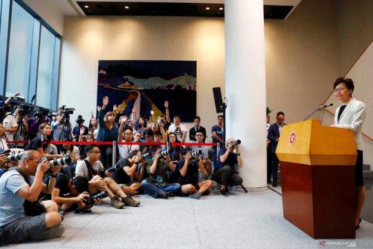 Pemimpin Hong Kong Carrie Lam akui China tak pernah memintanya mundur