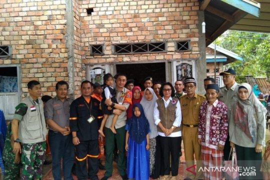 BNPB sambangi rumah Asmara yang gugur saat padamkan karhutla