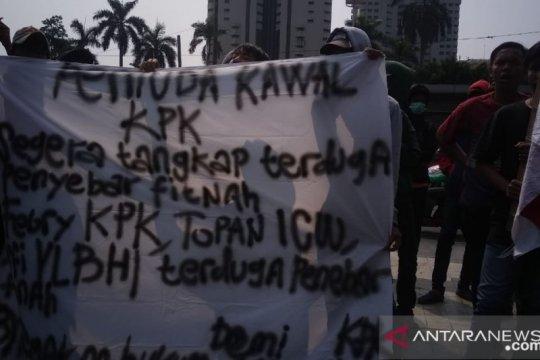 Pemuda Pengawal KPK geruduk PMJ desak pengusutan pelaku fitnah pansel