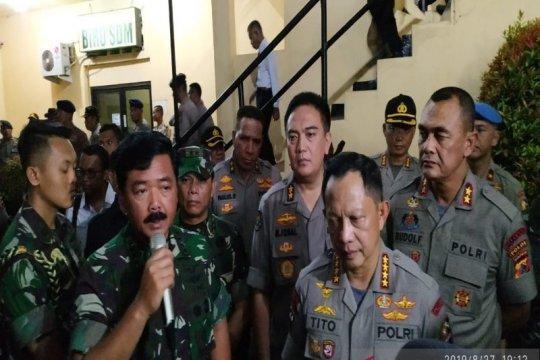 Panglima TNI sebut tidak ada ruang bagi pelaku rasis