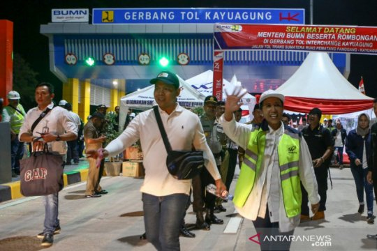 Ruas Bakauheni- Palembang JTSS ditarget selesai akhir September 2019