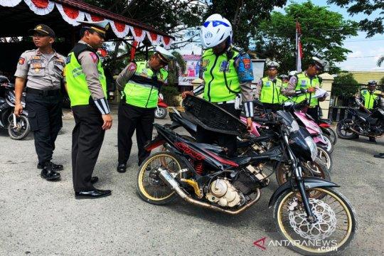 Tim khusus Polres Banjar tangkap 38 pelaku balapan liar