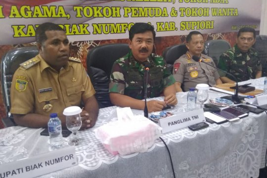 Panglima TNI: dua prajurit TNI diperiksa terkait rasisme mahasiswa