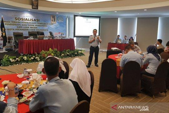 Anak pencari suaka akan bersekolah di Pekanbaru dengan sistem zonasi