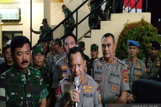 Kapolri: secara keseluruhan kamtibmas di Papua dan Papua Barat aman