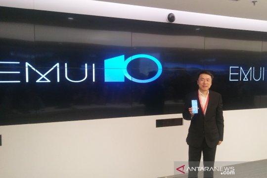 EMUI 10 Huawei terinspirasi gaya majalah
