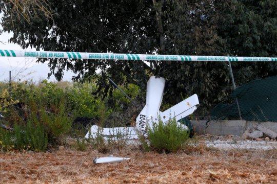 Helikopter pemadam kebakaran hutan di Portugal jatuh, tewaskan pilot