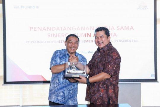 Pelindo III dan Semen Indonesia sinergikan tiga bidang