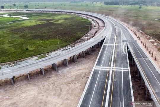 Tol Kayuagung-Palembang ditargetkan operasional akhir tahun