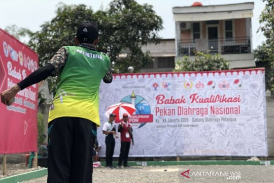 Petanque DKI Jakarta targetkan tiga emas di kualifikasi PON