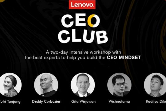 Lenovo Thinkbook CEO CLUB hadirkan Wishnutama hingga Deddy Corbuzier
